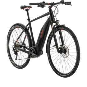 Cube Nature Hybrid EXC 500 Allroad, black/red